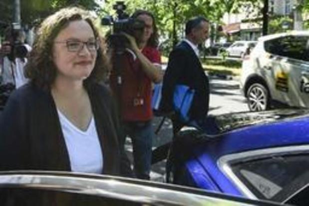 """""""Na ontslag van Nahles komt trio aan hoofd van Duitse sociaaldemocraten"""""""