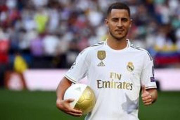 """""""Je veux savourer ce moment"""", a déclaré Hazard lors de sa présentation au Real Madrid"""