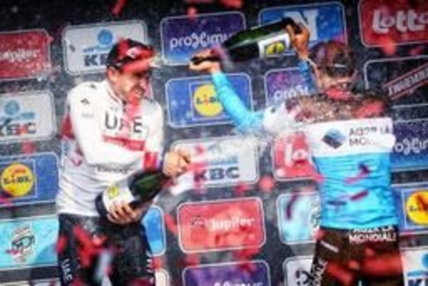 Ronde van Vlaanderen - Oliver Naesen twijfelachtig voor Ronde door bronchitis