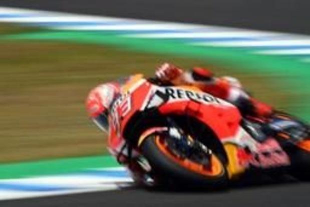 Marc Marquez pakt de zege in Spanje