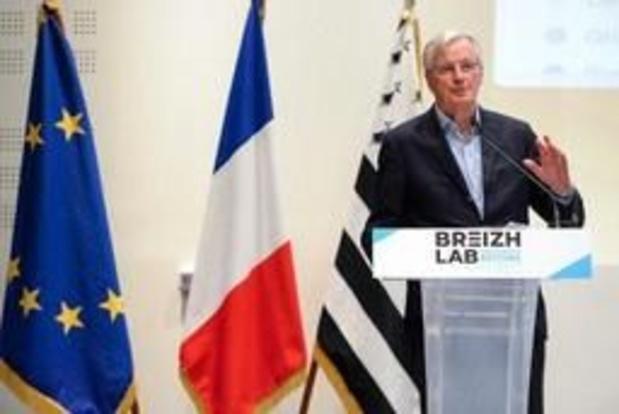 """Michel Barnier """"ouvert"""" sur les relations futures entre l'UE et le Royaume-Uni"""