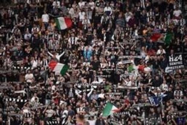 Serie A - Juventus viert 35e landstitel na 2-1 zege tegen Fiorentina