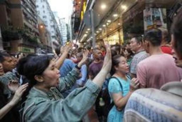 Demonstranten opnieuw de straat op in Hongkong