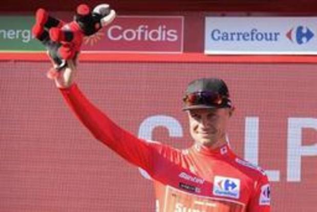 Tour d'Espagne - Nicolas Roche aimerait rester en rouge plus d'une journée