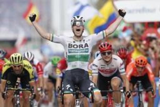 Sam Bennett remporte la 14e étape de la Vuelta
