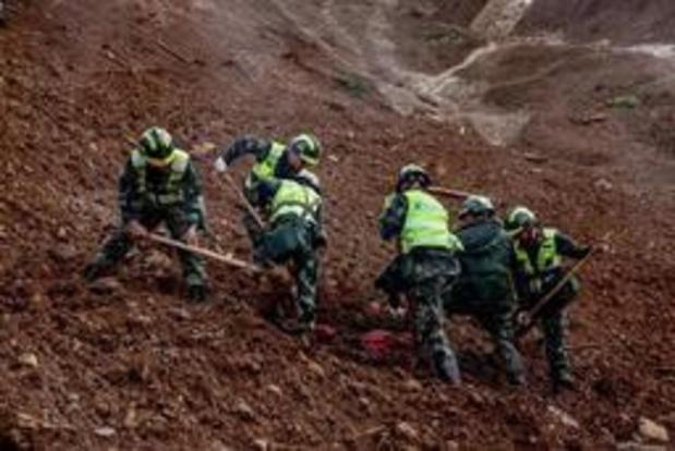 Aantal doden na grondverschuiving in China opgelopen tot 36