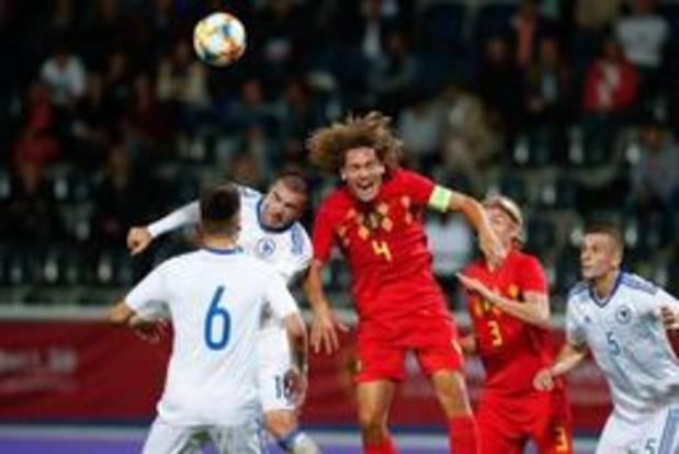 Kwal. EK U21 2021 (m) - Belgische beloften kunnen ook tegen Bosnië niet winnen, het blijft 0-0