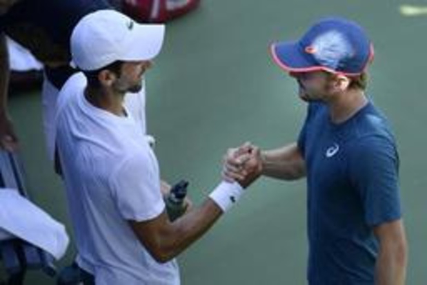 """Wimbledon - Djokovic, le prochain adversaire de Goffin: """"David a un jeu de jambes phénoménal"""""""