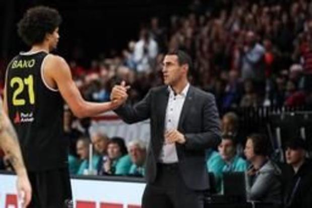 EuroMillions Basket League - Roel Moors voor de tweede keer verkozen tot Coach van het Jaar