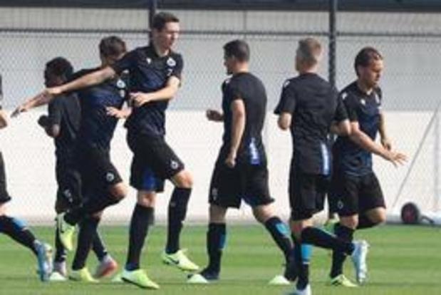 Champions League - Club Brugge 90 minuten verwijderd van groepsfase