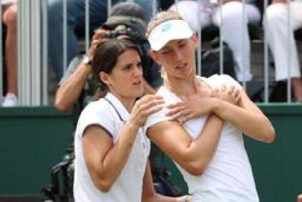 Elise Mertens laat ticket voor kwartfinales uit handen glippen