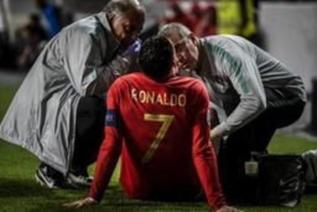 Ronaldo verwacht snel weer te staan voor EK-kwalificatieduel