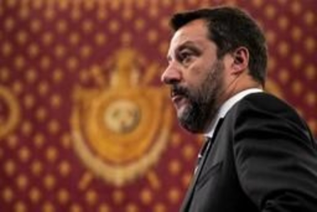 L'Italien Matteo Salvini veut lancer une alliance souverainiste pour les européennes