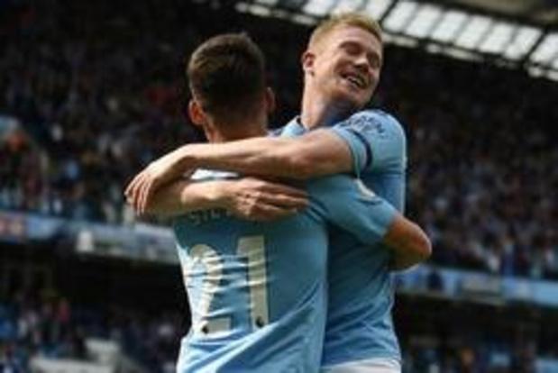 Kevin De Bruyne (Manchester City) parmi les nommés pour le titre de Joueur du mois