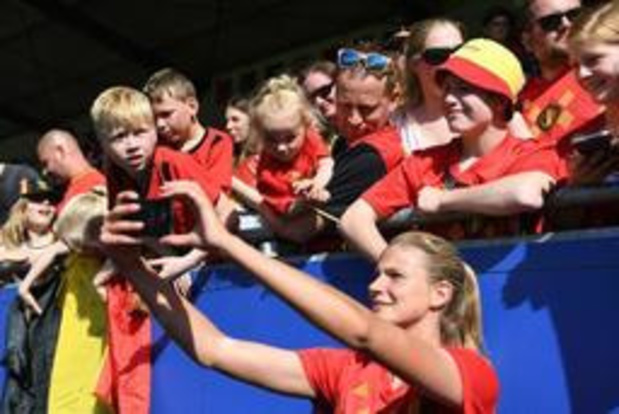 L'Union belge met en place une fan zone pour les matchs à domicile des Red Flames