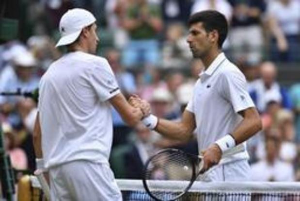 Wimbledon - Djokovic is op zijn hoede voor snelheid van Goffin