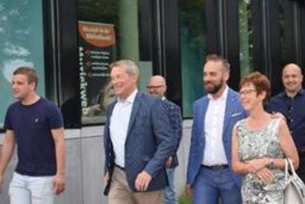 Johan Sauwens (Trots op Bilzen) haalt zijn slag thuis in Bilzen