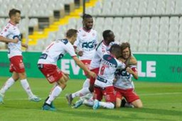 Jupiler Pro League - KV Kortrijk wint bij Cercle Brugge, geen winnaar in Eupen - Waasland-Beveren