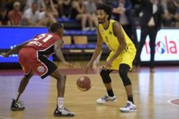 Euromillions Basket League - Ostende s'impose 67-73 à Anvers dans la 1e manche de la finale