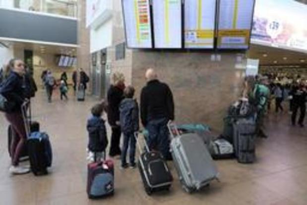 Brussels Airport se prépare pour la journée la plus chargée de l'année