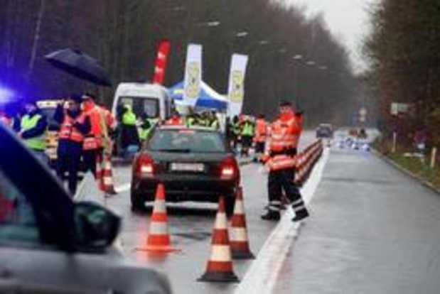 """Politie organiseert opnieuw """"weekend zonder alcohol achter het stuur"""""""