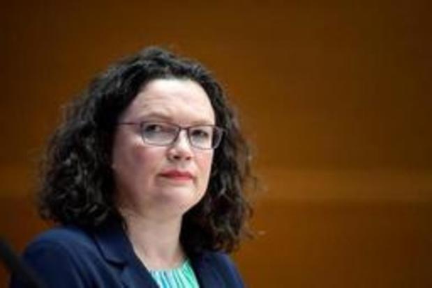 Leider van Duitse sociaaldemocraten neemt ontslag na nederlaag bij Europese verkiezingen
