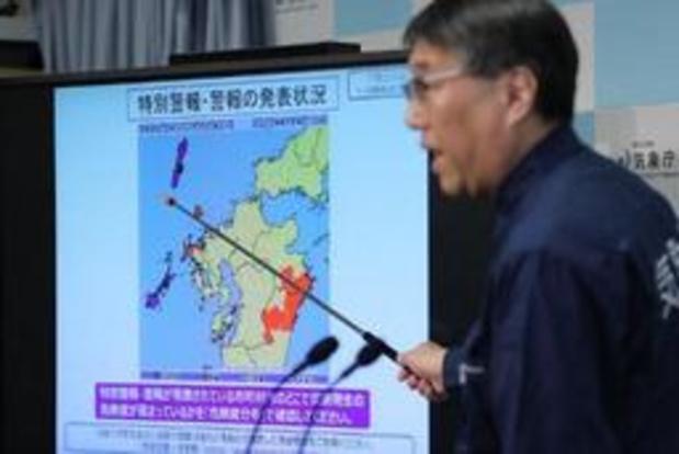 Tienduizenden Japanners geëvacueerd door zware regenval