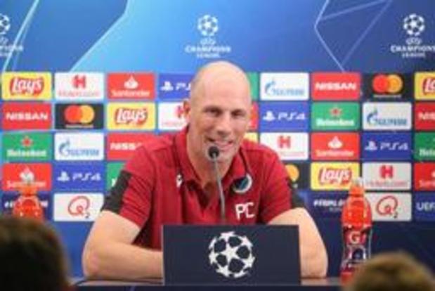 Après Genk, Philippe Clement veut qualifier Bruges pour la phase des poules