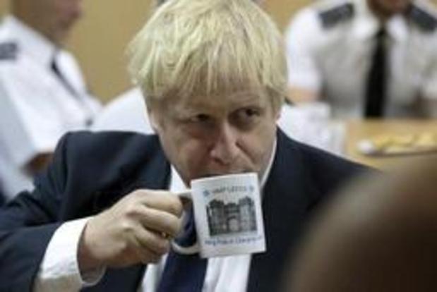 Boris Johnson woensdag op koffie bij Merkel, donderdag bij Macron