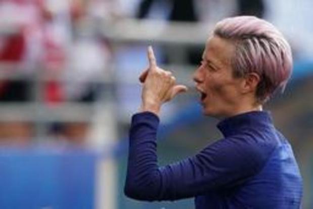 WK vrouwenvoetbal - Amerikaanse voetbalsters schakelen stug Spanje uit