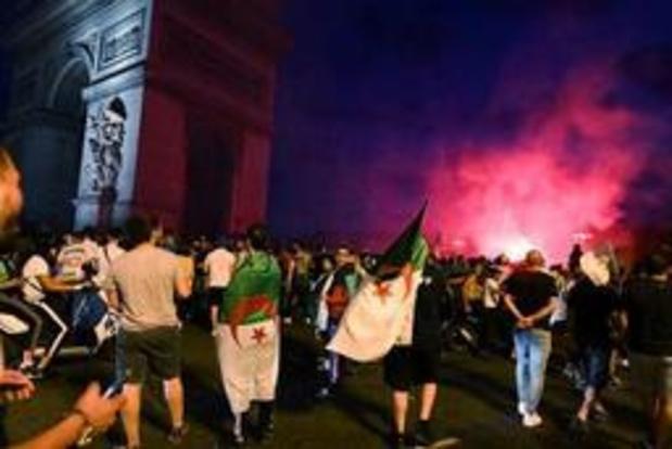 Africa Cup 2019 - Winkel rond Champs-Elysées geplunderd bij bijeenkomst na overwinning van Algerije