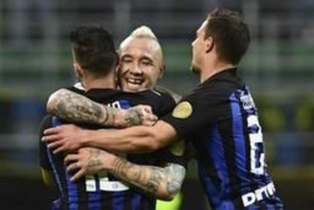 Belgen in het buitenland - Inter en Nainggolan dicht bij Champions League na thuiszege tegen Chievo