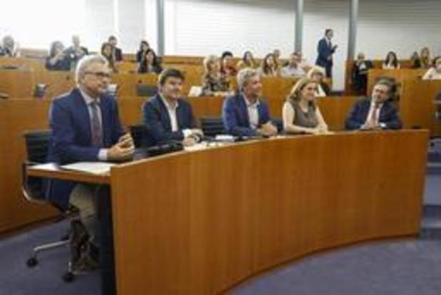 Les ministres bruxellois ont prêté serment devant le parlement