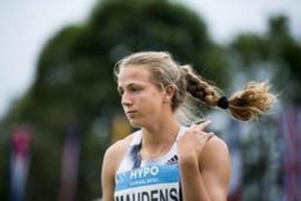 Hypomeeting Götzis - Hanne Maudens sluit eerste dag zevenkamp af op negentiende plaats