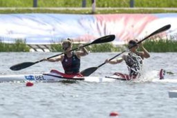 Hermien Peters et Lize Broekx 4e du K2 500m et qualifiées pour les JO 2020