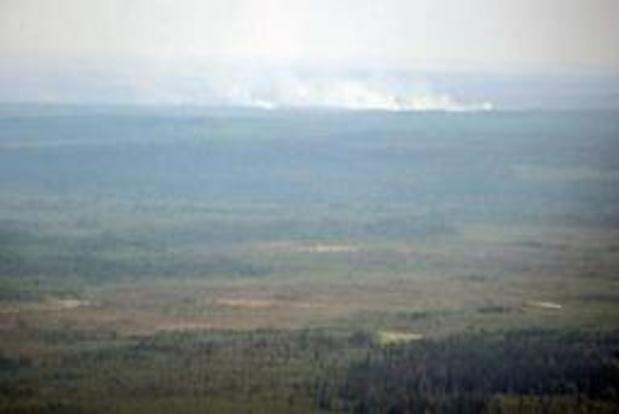 Bosbranden in Siberië breiden zich verder uit