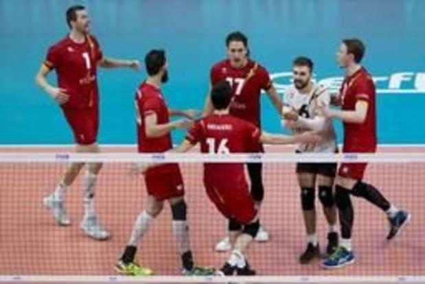 European Golden League volley (m) - La Belgique encore battue mais sauvée
