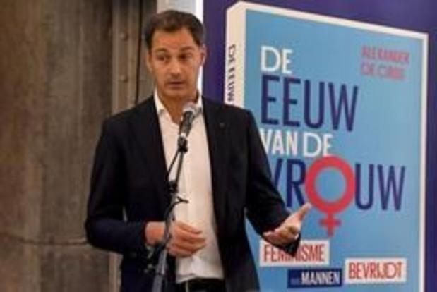 Boek van minister De Croo steekt de Oceaan over