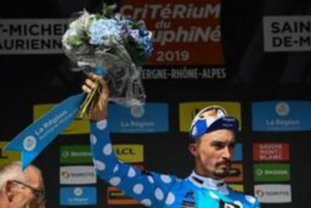 "Julian Alaphilippe (Deceuninck-Quick Step): ""au sprint, il fallait jouer intelligemment"""