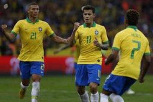 Amicaux internationaux - Le Brésil en passe 7 au Honduras avant la Copa America