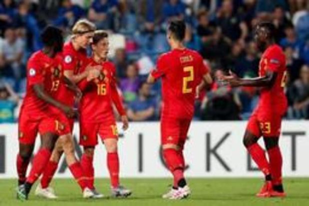 Euro U21 (m) - L'Italie éliminée, la Roumanie et la France en demi-finales et qualifiées pour les Jeux