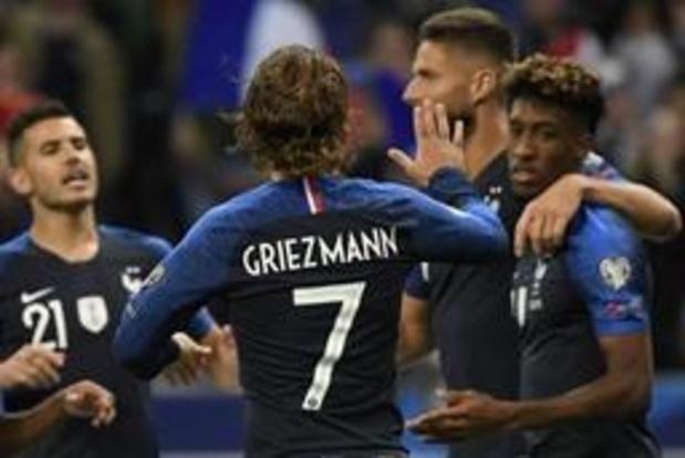 Qualifications Euro 2020 - La France se promène contre l'Albanie, 1ère victoire pour le Portugal