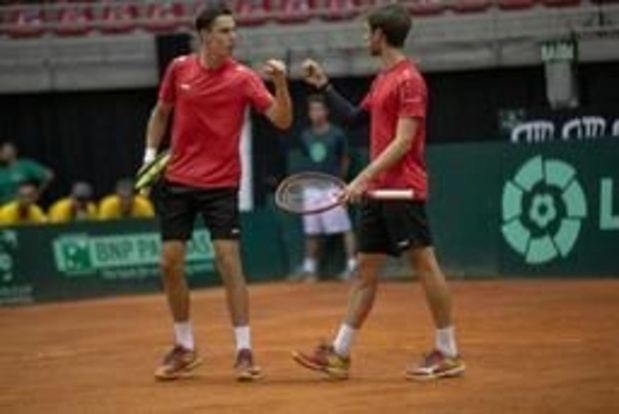 Challenger Bratislava - Sander Gille en Joran Vliegen winnen finale dubbelspel