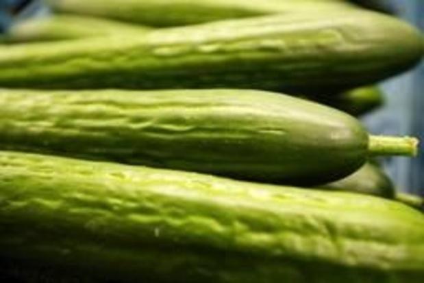 Verkoop groenten en fruit in de lift