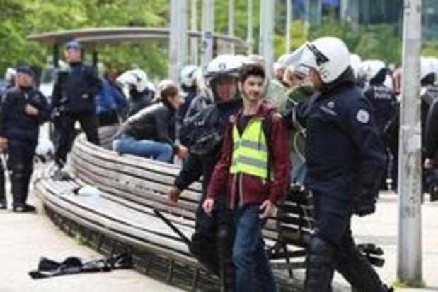 Cinq arrestations judiciaires après l'interpellation de plusieurs Gilets jaunes dimanche