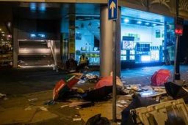 Taiwan veroordeelt geweld tegen manifestanten