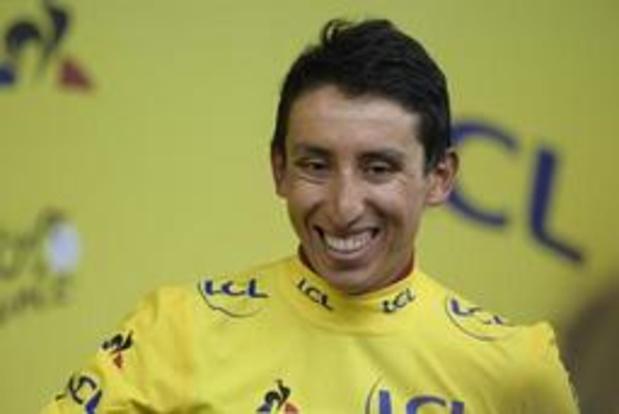Tour de France - Egan Bernal rijdt in geel naar Parijs