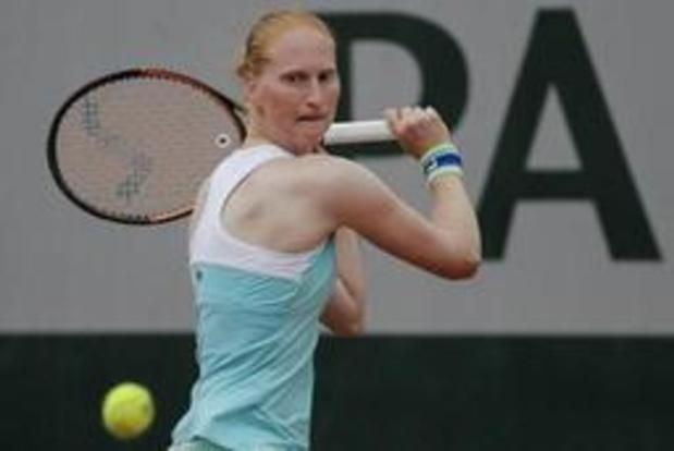 Alison Van Uytvanck rukt op naar finale