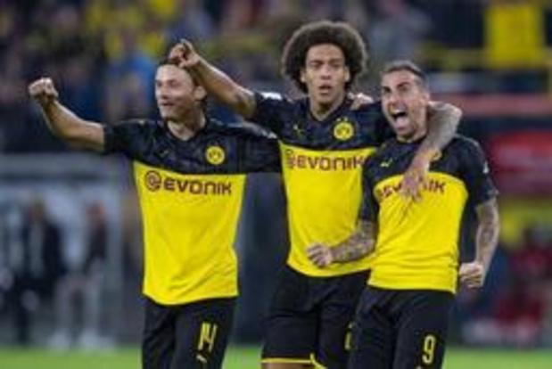 Axel Witsel mag met Dortmund Duitse Supercup de lucht insteken na zege tegen Bayern