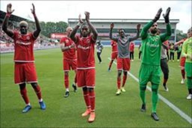 Europa League - Antwerp en mogelijk Gent kennen maandag tegenstanders in derde voorronde